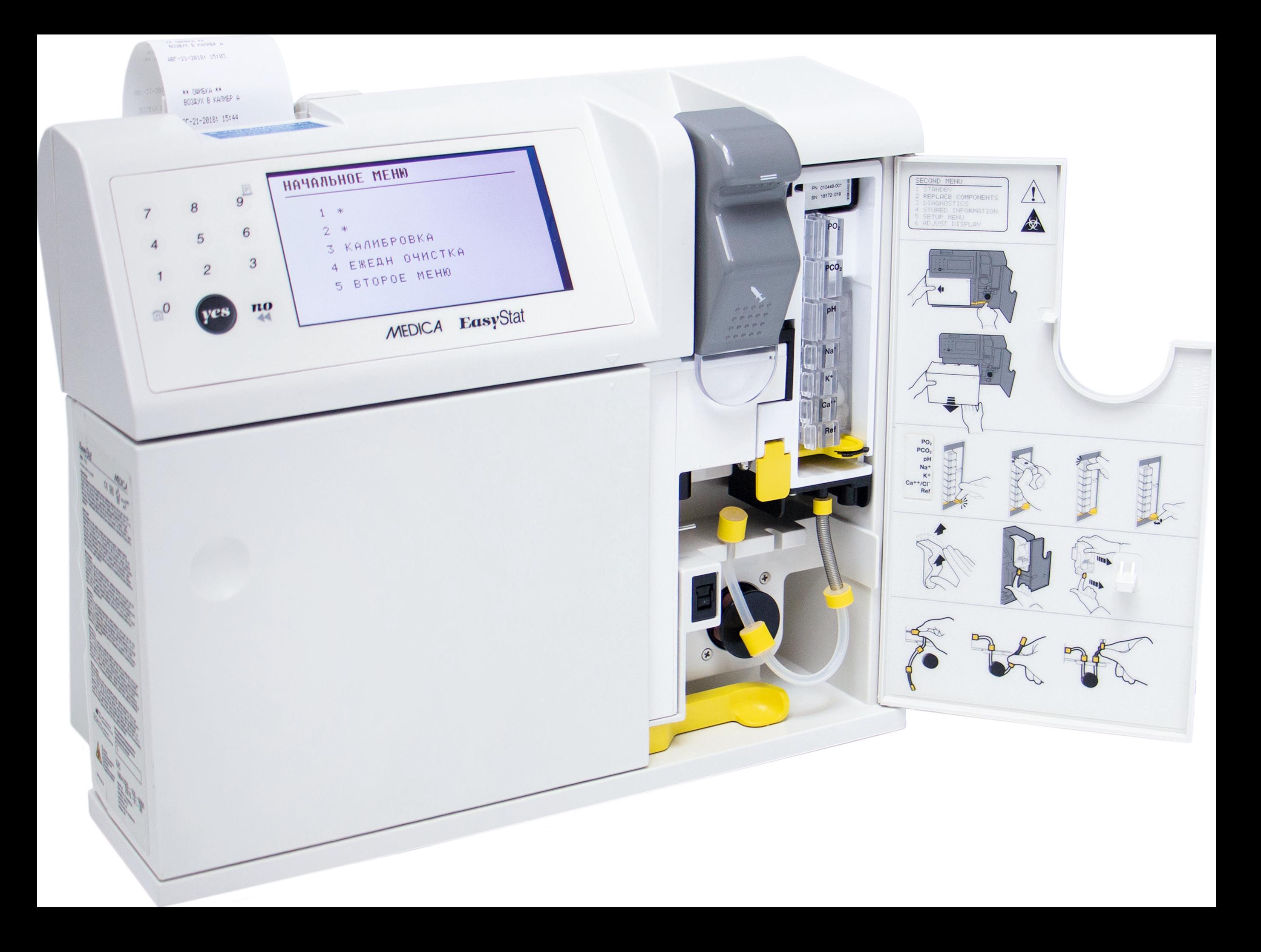 Анализатор газов крови и электролитов EASYSTAT, со стартовым комплектом