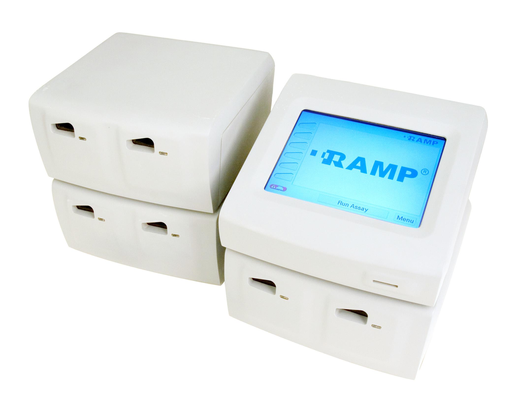 RAMP 200 System. 1 контрольный и 3 тестовых модуля