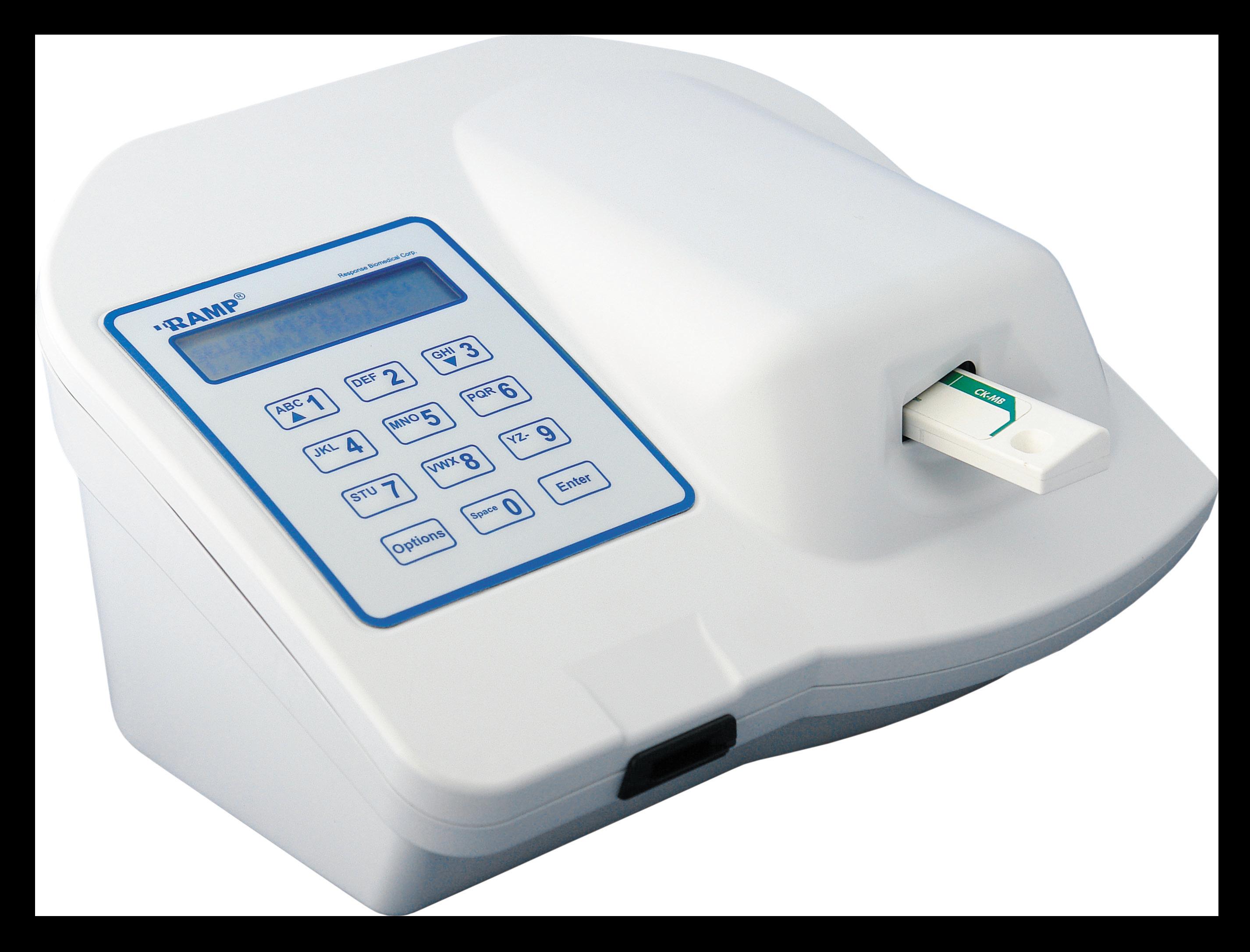 RAMP Reader System. Анализатор флуориметрический для быстрого количественного определения маркеров неотложных состояний